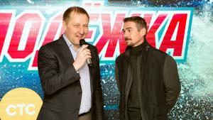 Актер Денис Никифоров и продюсер Дмитрий Табарчук