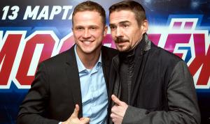 Актер Денис Никифоров и Евгений Кулик