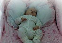 Младенец Антиповых в колыбелий