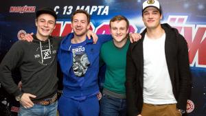 Актеры: Илья Коробко, Александр Соколовский, Игорь Огурцов, Иван Жвакин